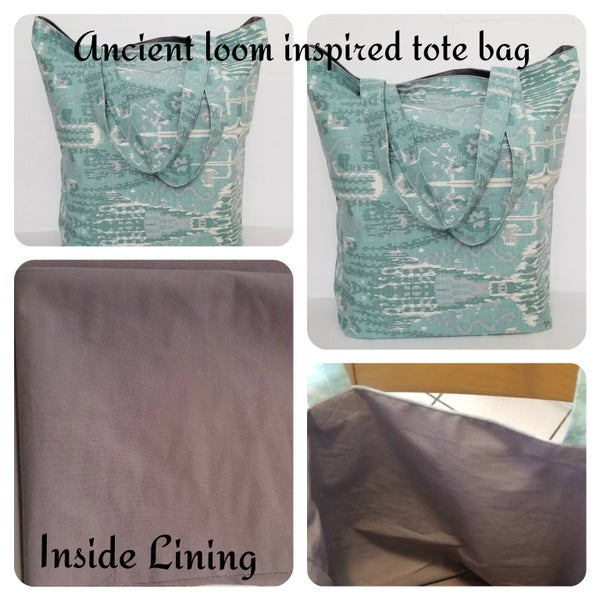 Image of Ancient Loom Inspired Tote Bag