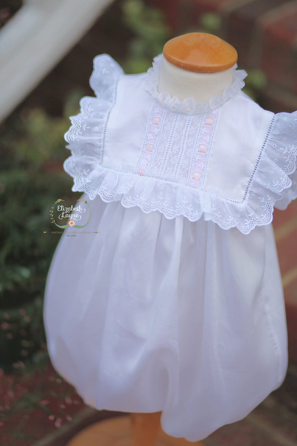 Image of The Georgia Heirloom Dress, Bubble & Day Gown