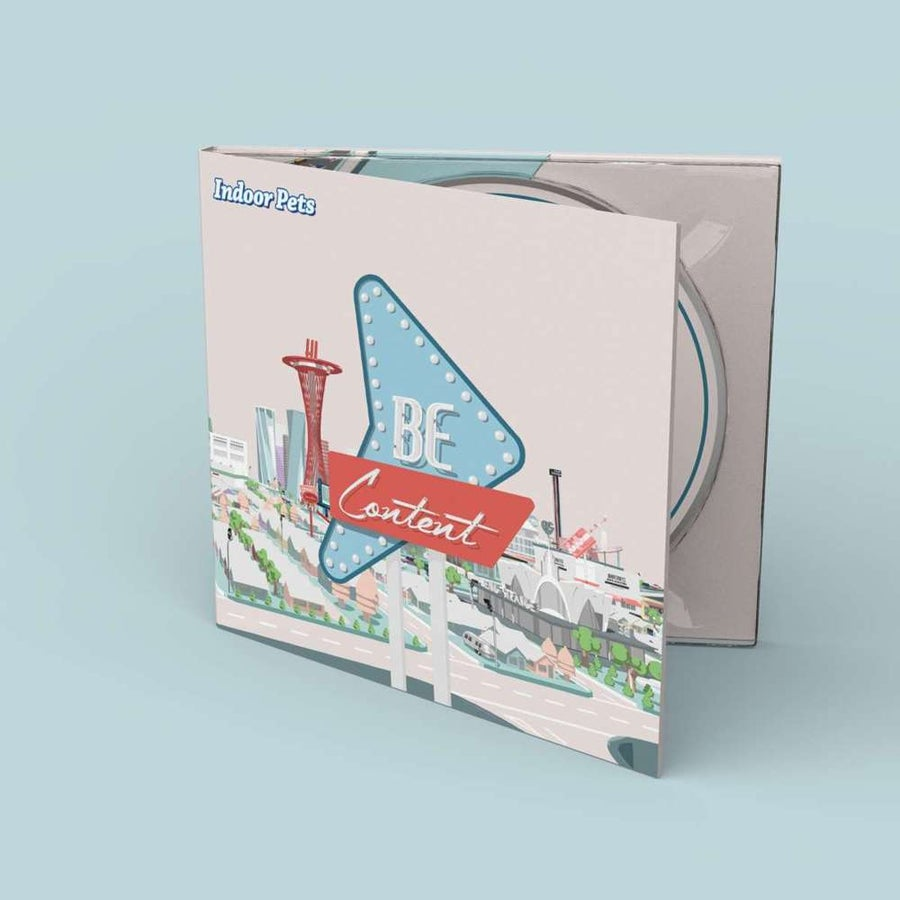 Image of Be Content - CD