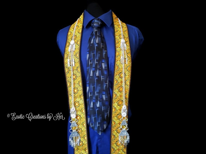 Rope of Knowledge Graduating Stole