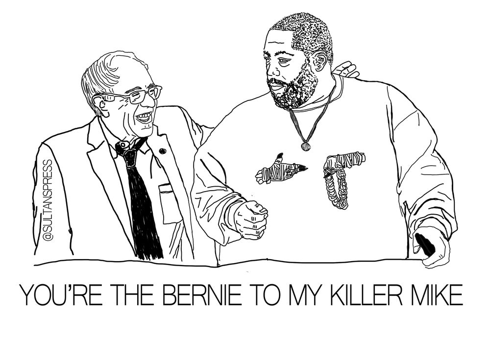 Image of Bernie & Killer Mike