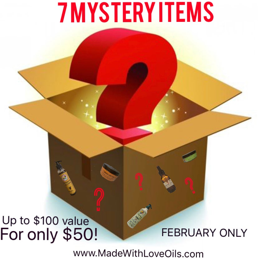 Image of 7 Mystery Items
