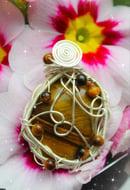 Image 1 of tigers eye pendant