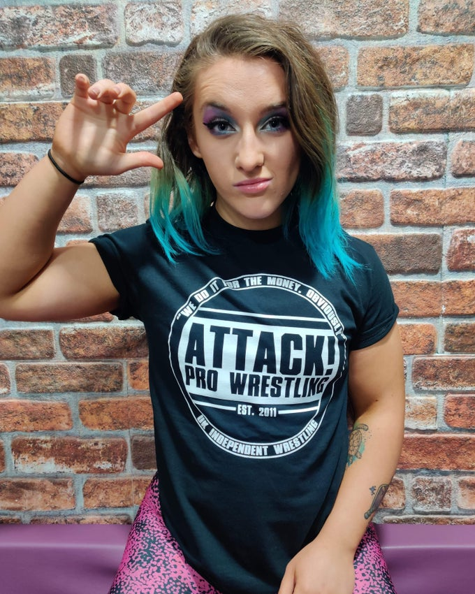Image of ATTACK! Old School Logo Tee