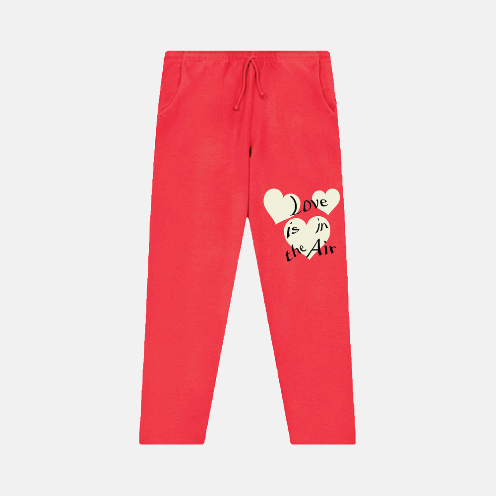 Image of LOVE IS IN THE AIR SWEATPANTS