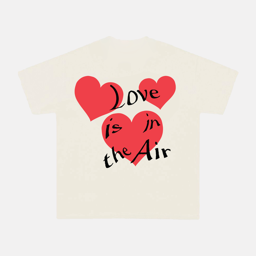 Image of LOVE IS IN THE AIR TEE