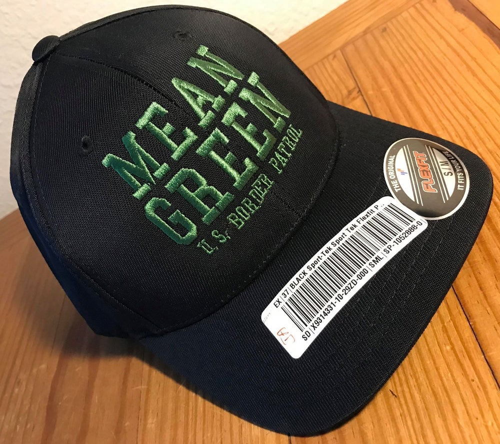 Image of MEAN GREEN FLEX FIT BALL CAP