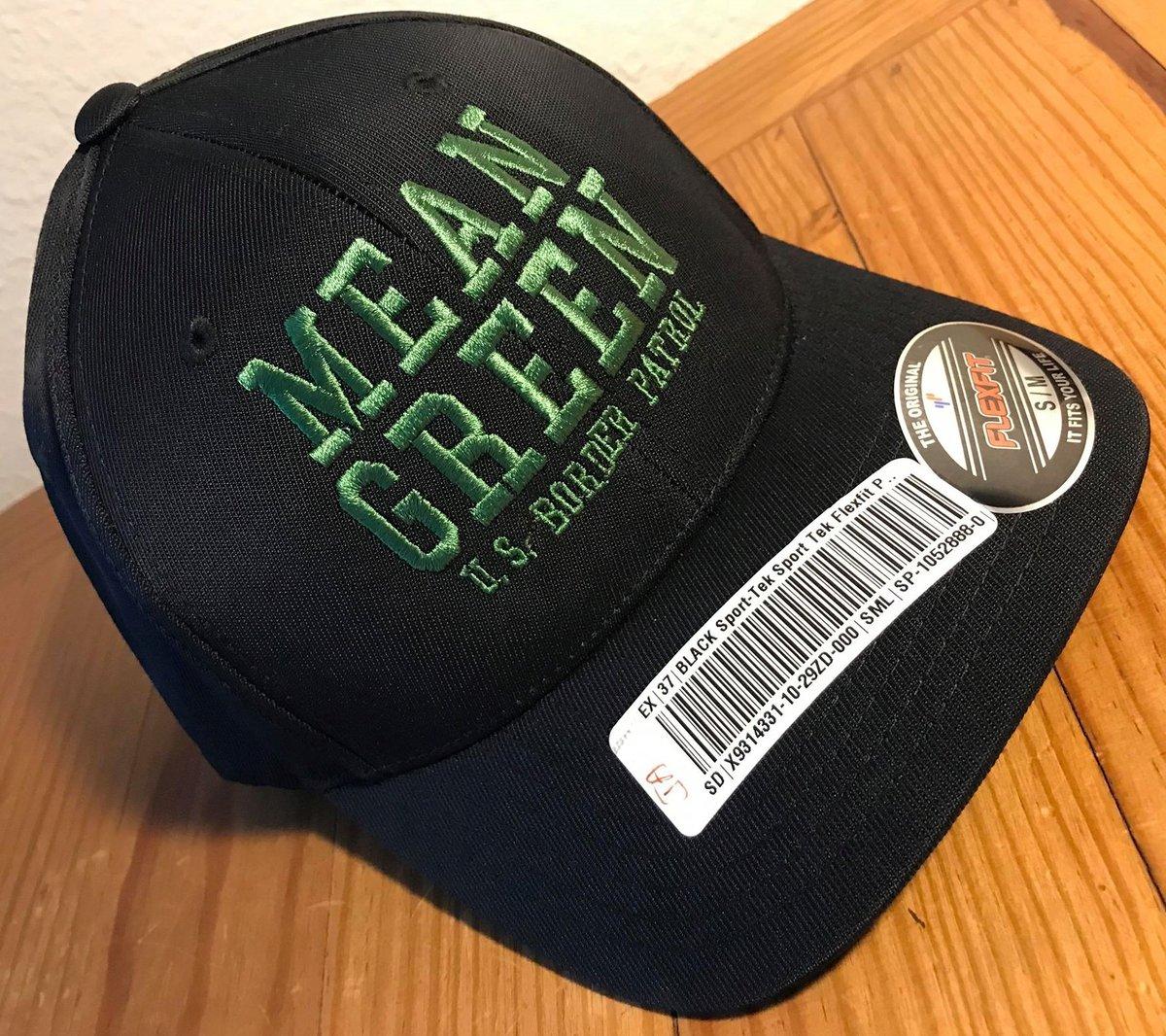 Image of MEAN GREEN FLEX FIT BALL CAP