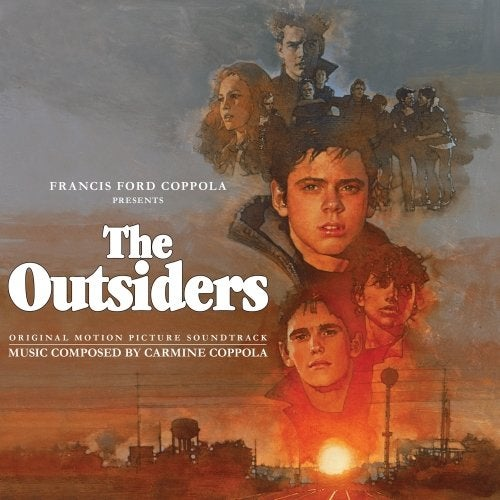 Image of The Outsiders (1983) Movie Soundtrack by Carmine Coppola CD