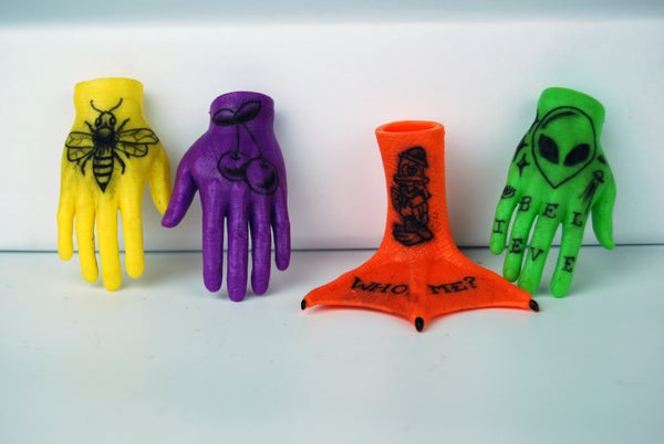 Image of Tattooed Tiny Hands