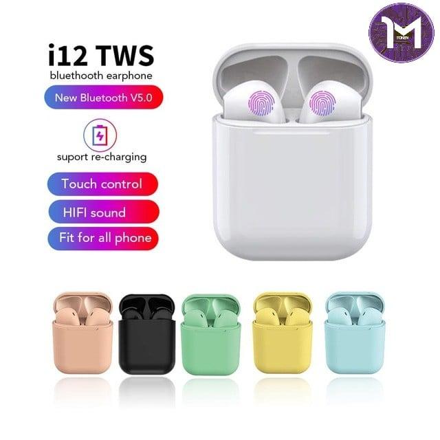 Image of 2019 i12 TWS Headphones Bluetooth 5.0