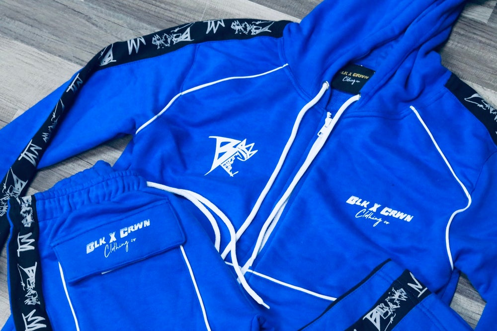 Image of NIPSEY Blue 3M Tracksuits