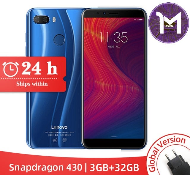 "Image of Lenovo K5 Play 3GB 32GB Snapdragon 430 Octa Core Smartphone 1.4G 5.7"" 18:9 Fingerprint"