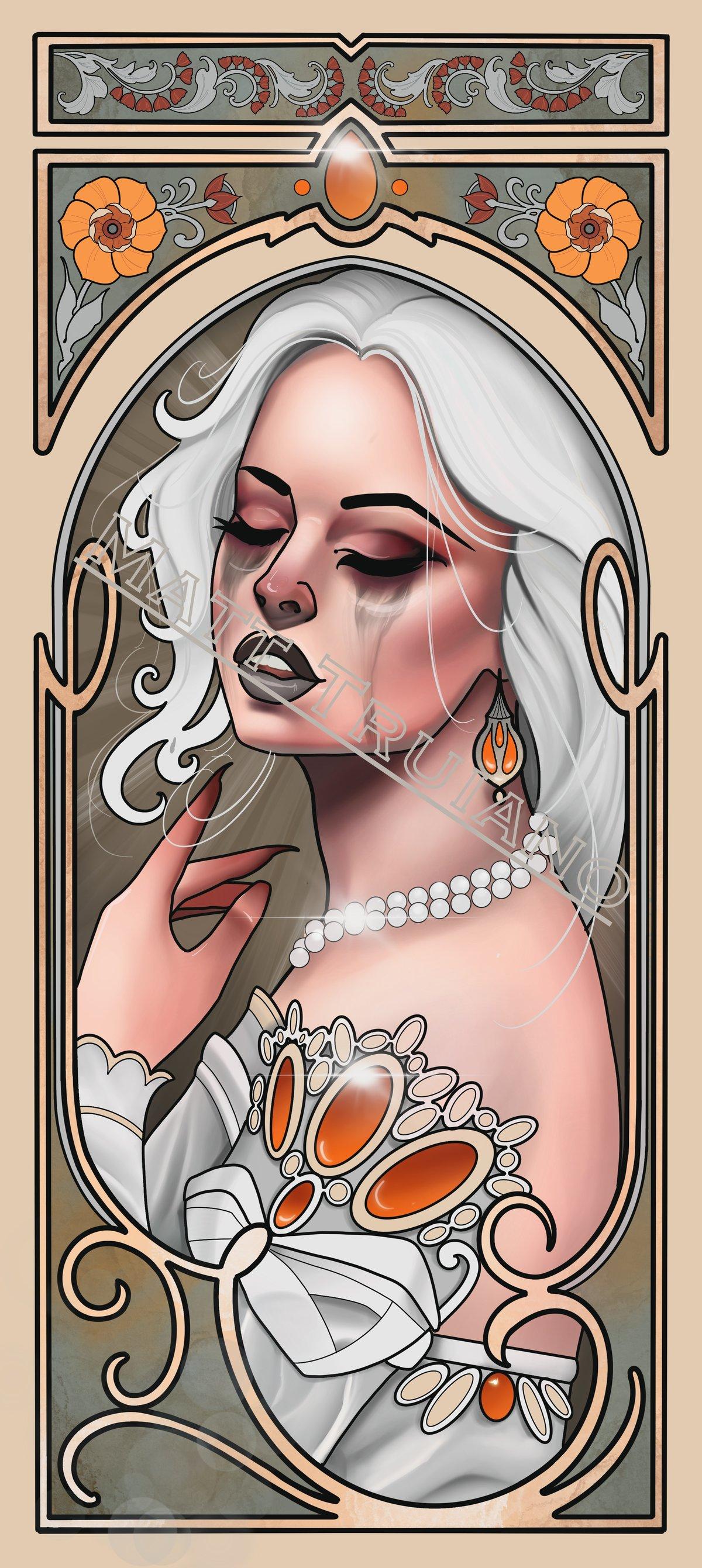 Lady Nouveau III