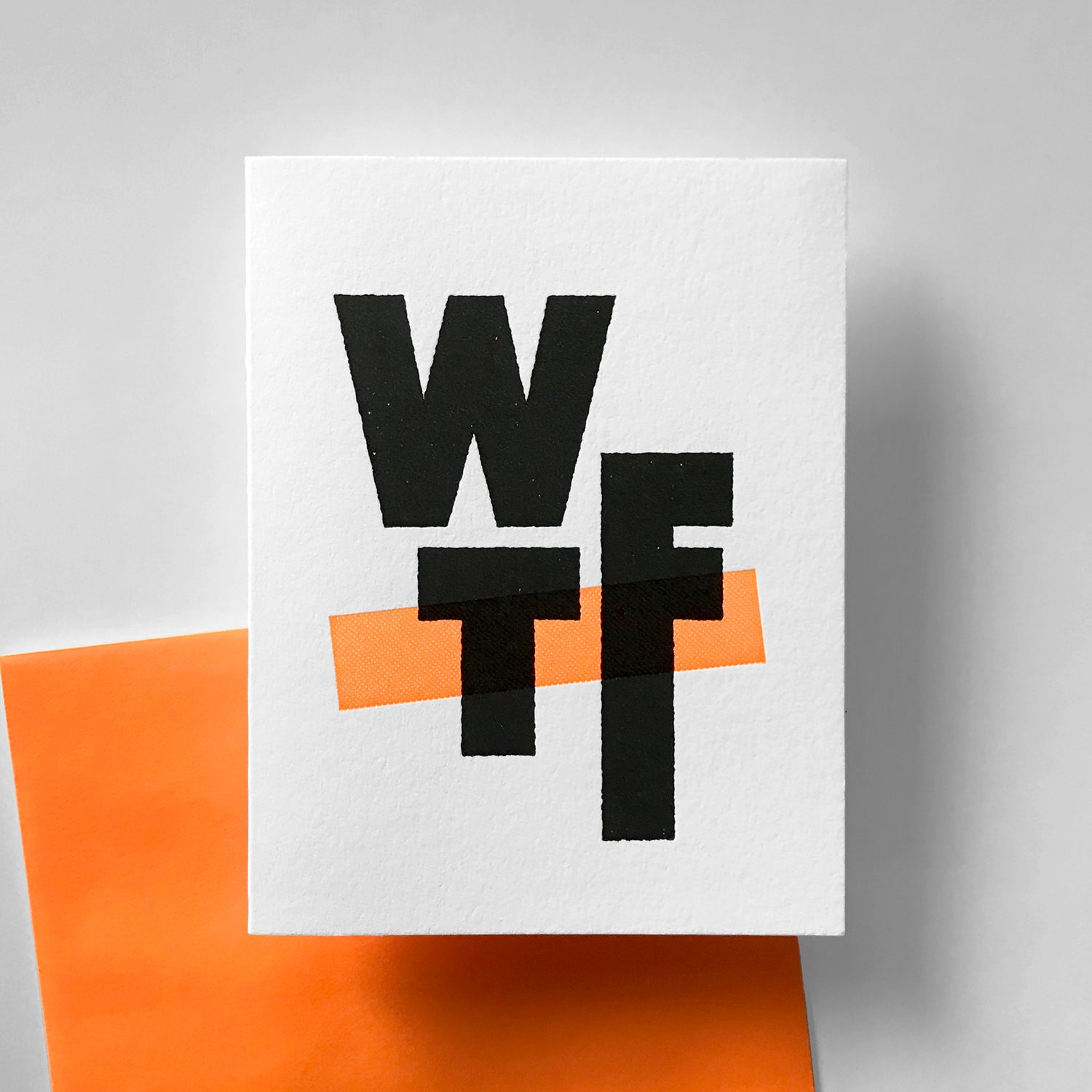 Image of T9 - WTF Greeting Card