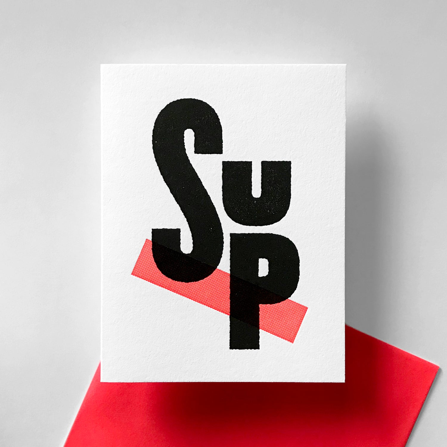 Image of T9 - SUP Greeting Card