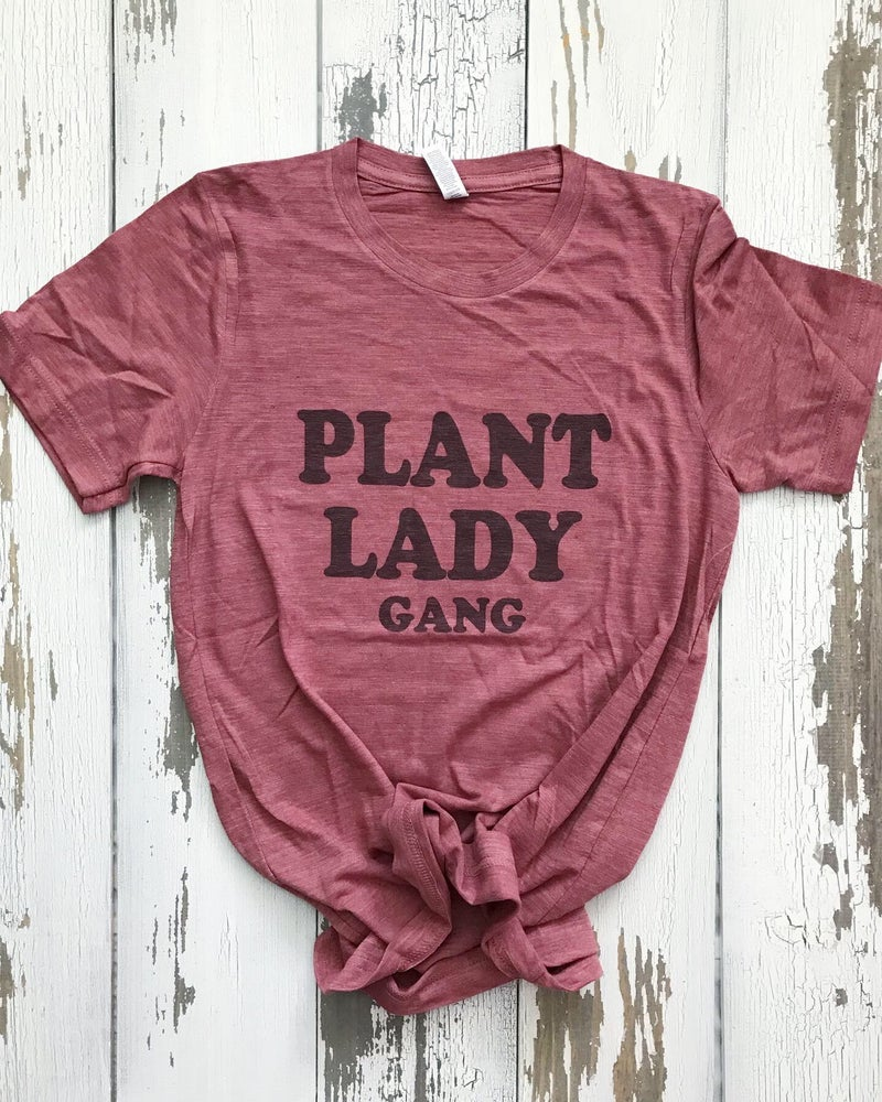 Image of Plant lady gang unisex tee