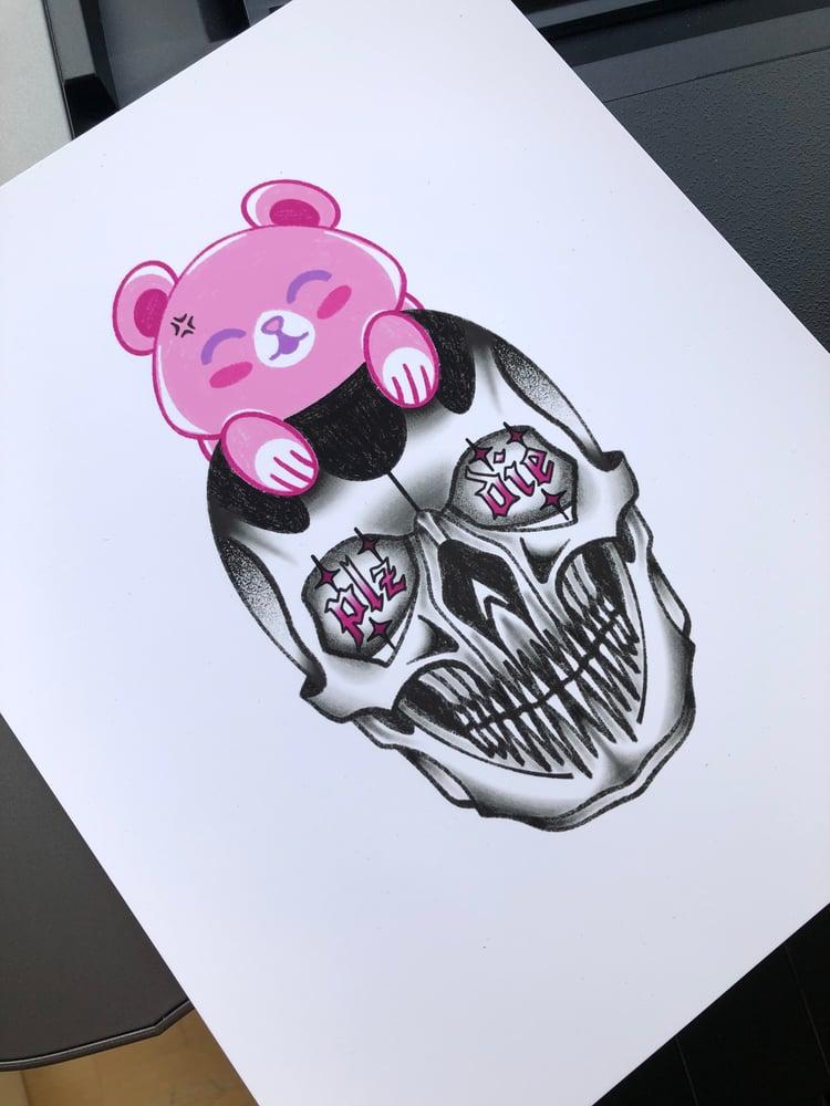 Image of Plz Die Art Print