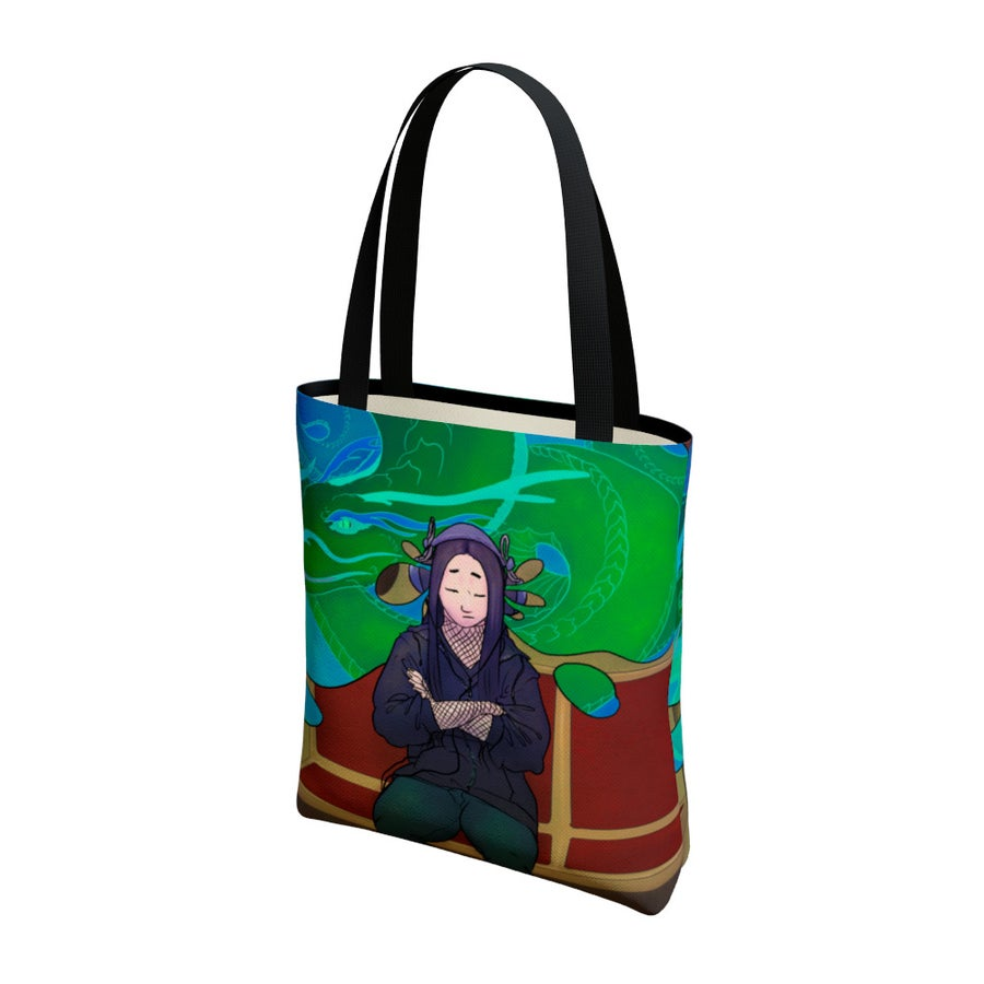 Image of Subway Meditation - Tote Bag - Limited Time!