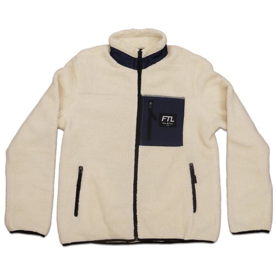 Image of FTL Polar Fleece (Cream/Navy)