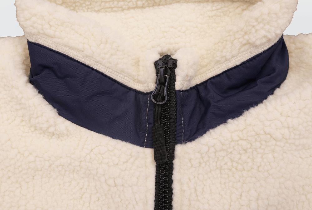 Image of FTL Polar Fleece (Cream/Navy)