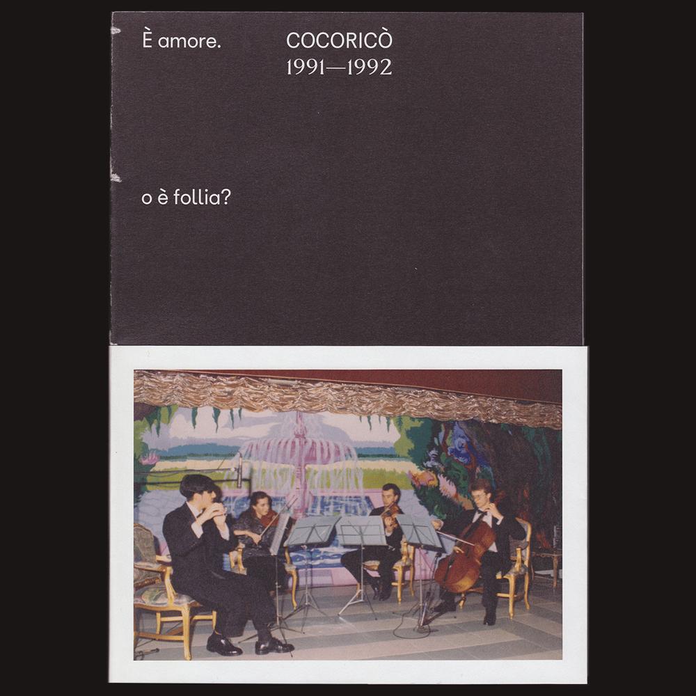 Image of È amore. o è follia? Cocoricò 1991–1992