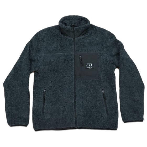 Image of FTL Polar Fleece (Charcoal/Black)