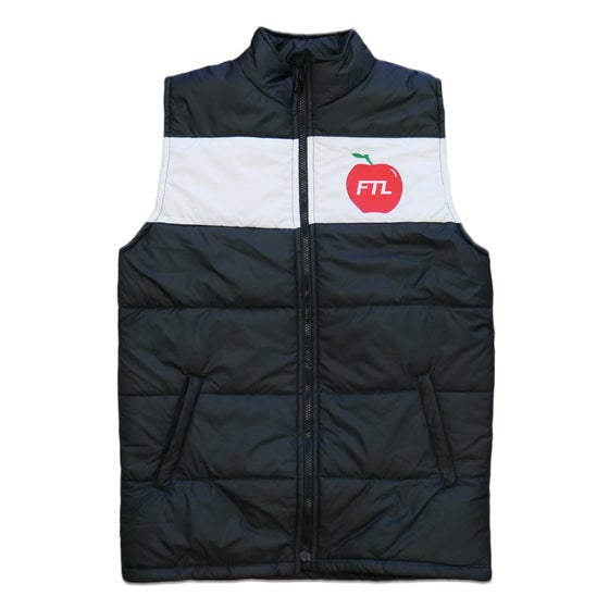 Image of Big Apple Puffer Vest (Black)