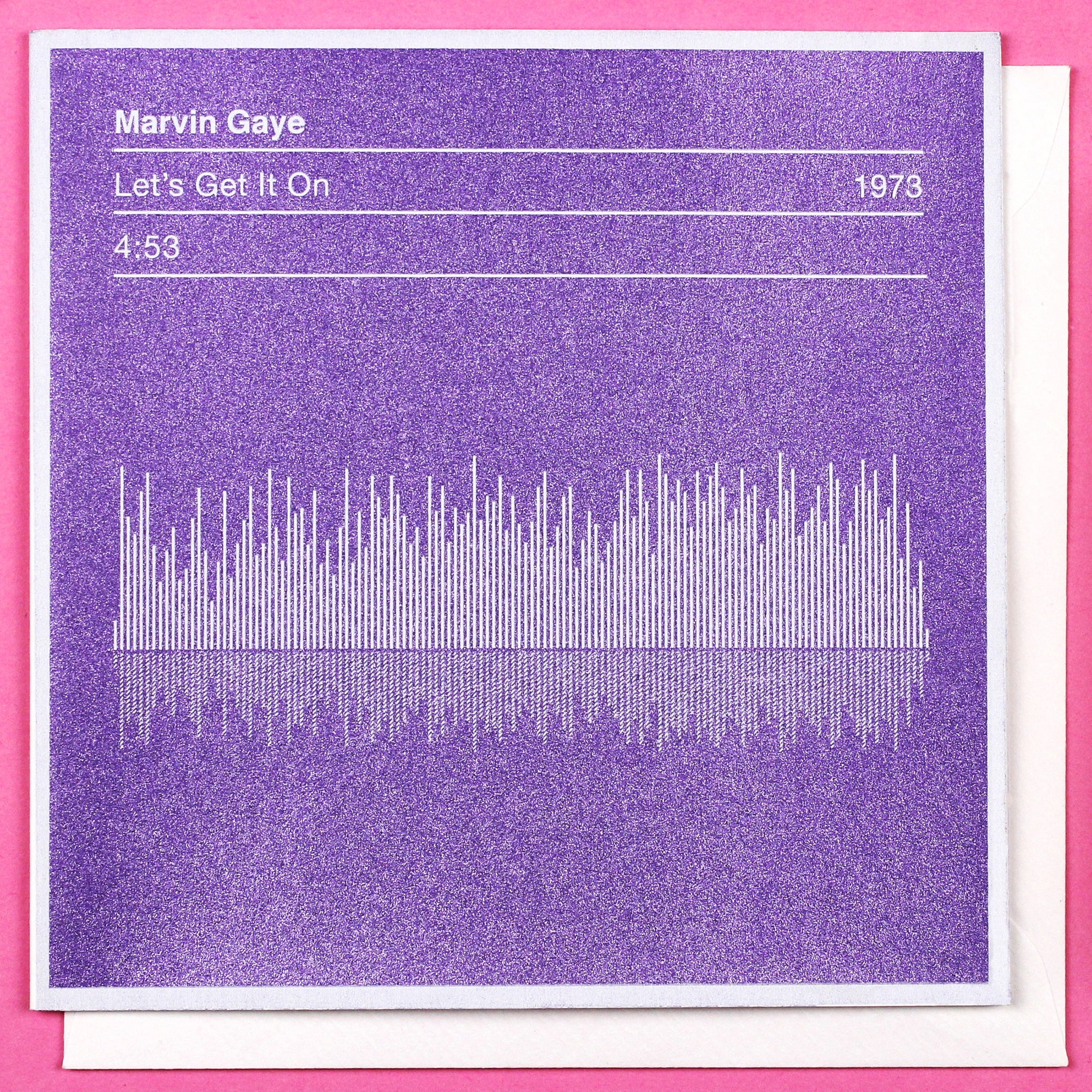 marvin gaye valentines card 'let's get it on' song sound
