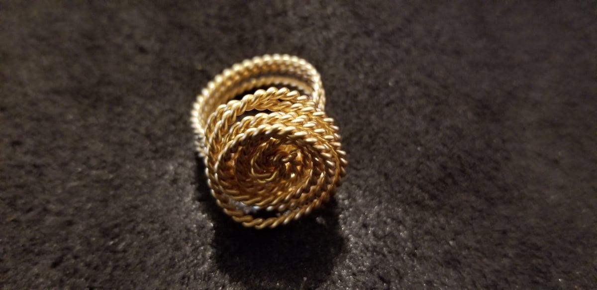 Tensor Flower Rings