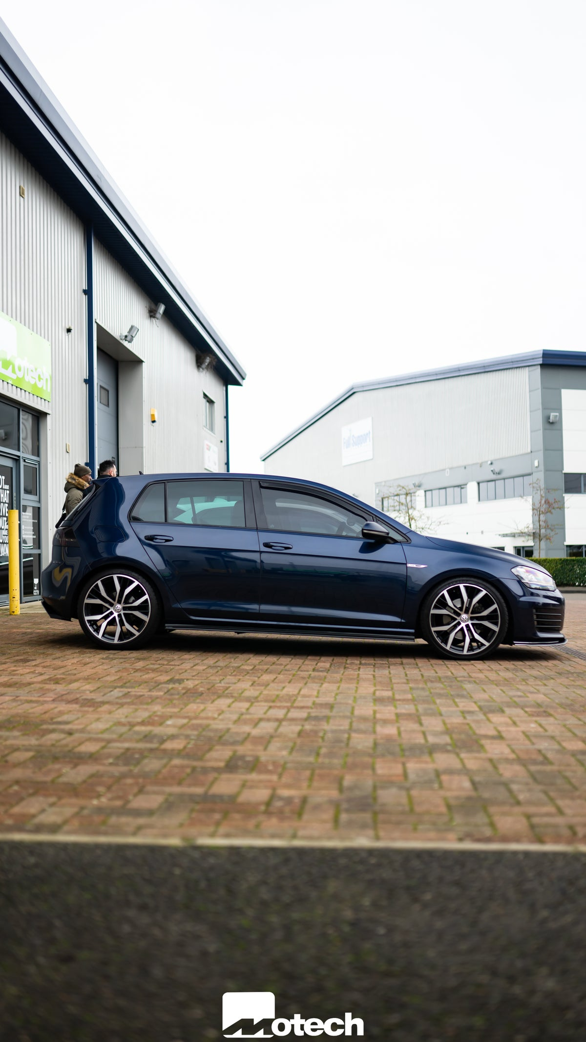 Image of VW MK7 and 7.5 GTD Eibach Lowering Springs