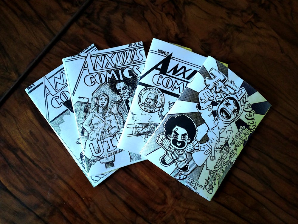 Image of Anxious Comics Bundle!