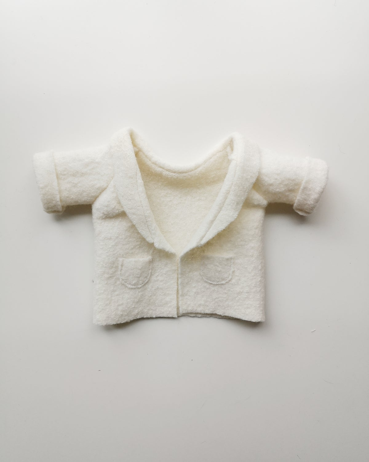 Image of Mini manteau écru