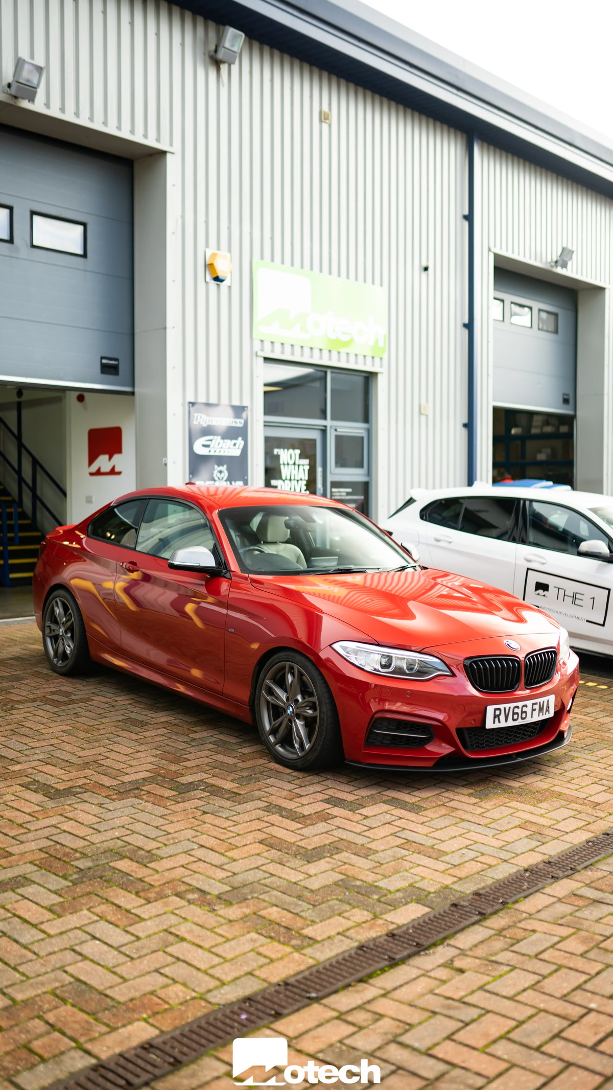 Image of BMW M235I M240I Eibach Motech Stance (-25mm/-20mm)