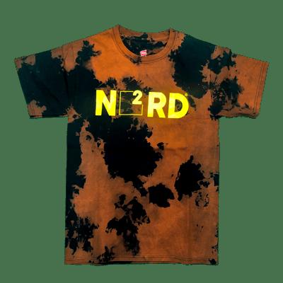Image of Acid Wash Nerd Square T-Shirt