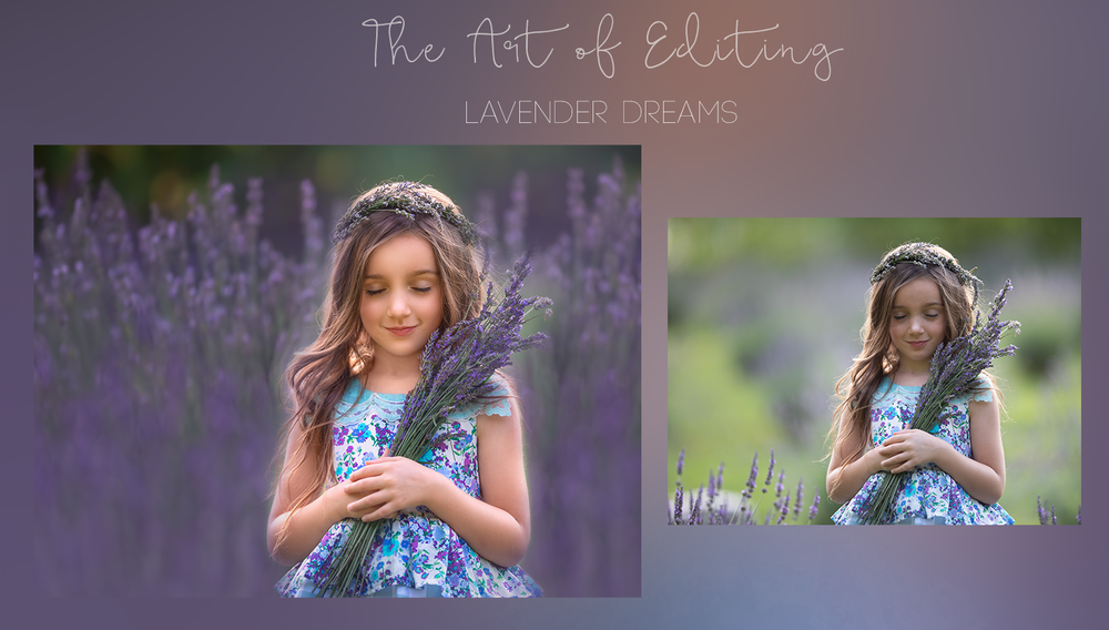 Image of The Art of Editing - Lavender Dreams