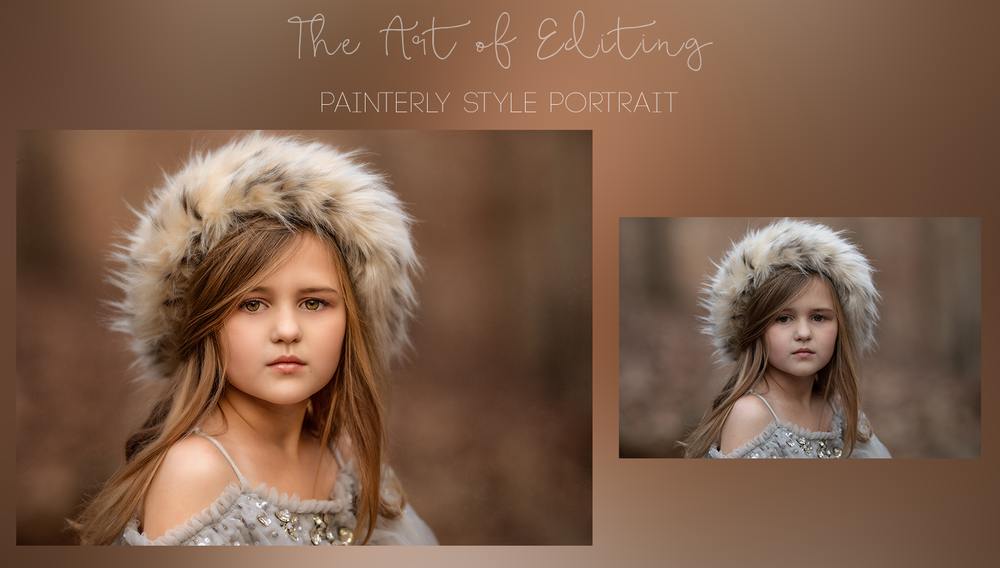 Image of The Art of Editing - Painterly Portrait