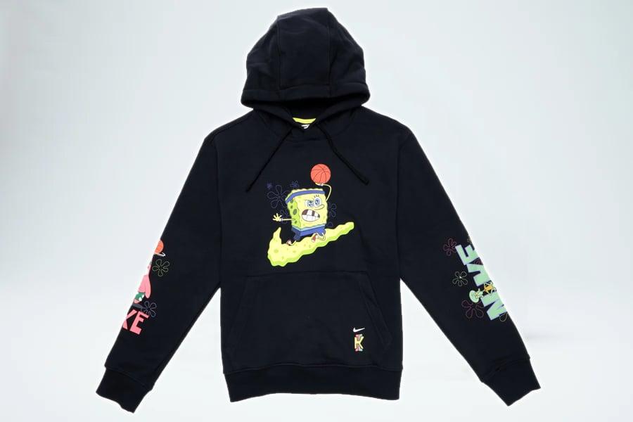Image of Nike Kyrie x Spongebob Hoodie - Black
