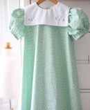 Image 1 of Nana Mae Chick Print Collar Dress
