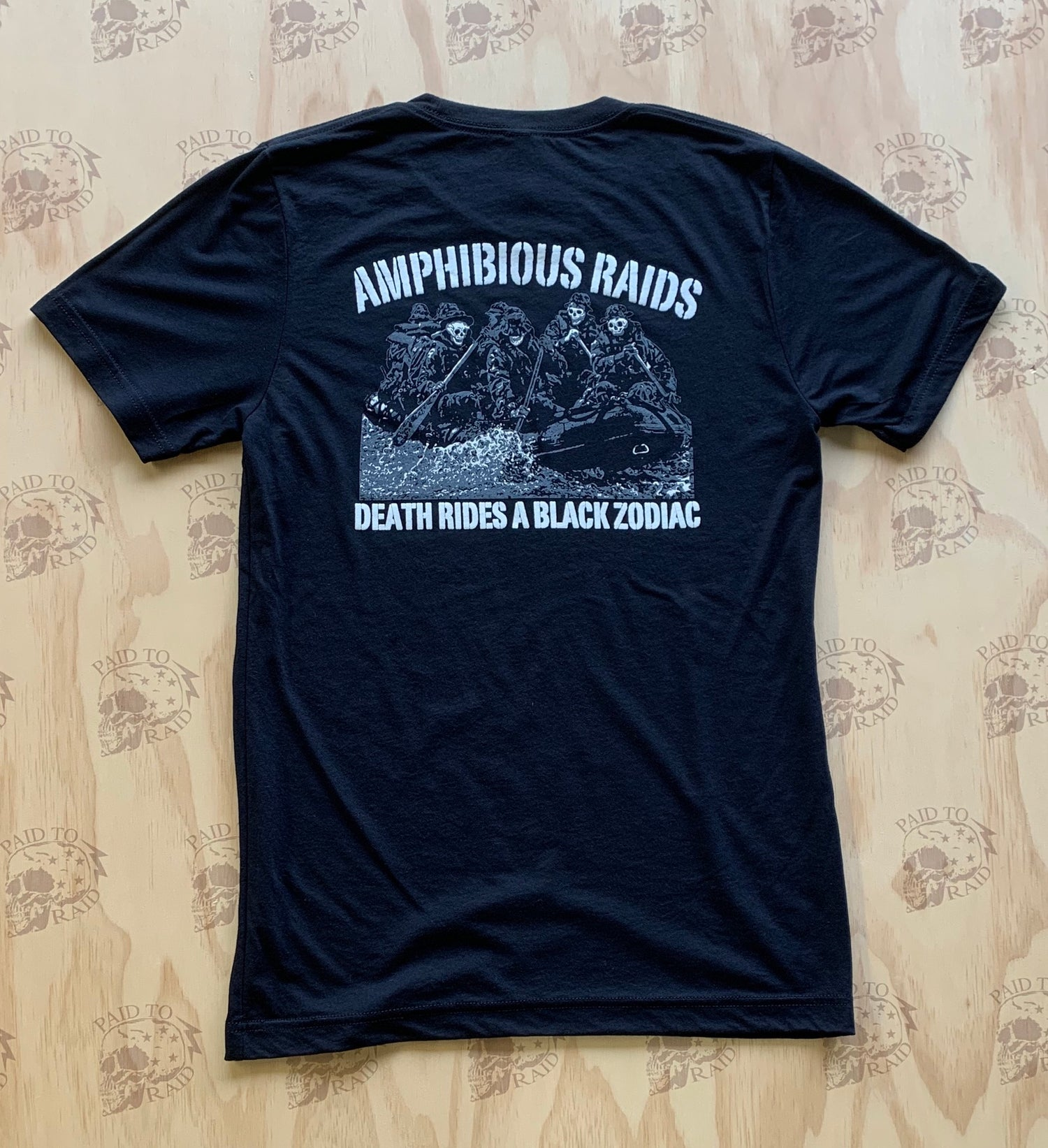 Image of Monkey's Fist Amphib Raids Tee