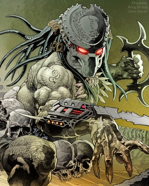 "Image of Predator: Hunters III #1- Signed Comic + Print (Ink version) <font color=""red"">SALE</font>"