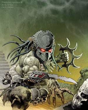 Image of Predator: Hunters III #1- Signed Comic + 2 Prints (Ink & Pencil)