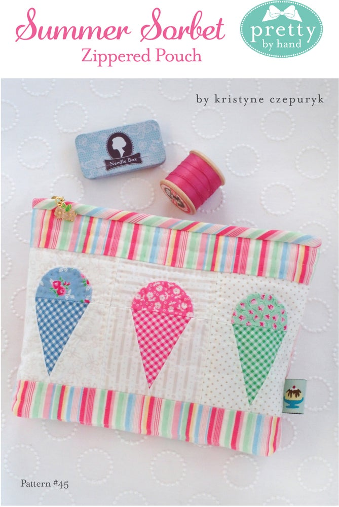 Image of Summer Sorbet Zippered Pouch - PDF Only
