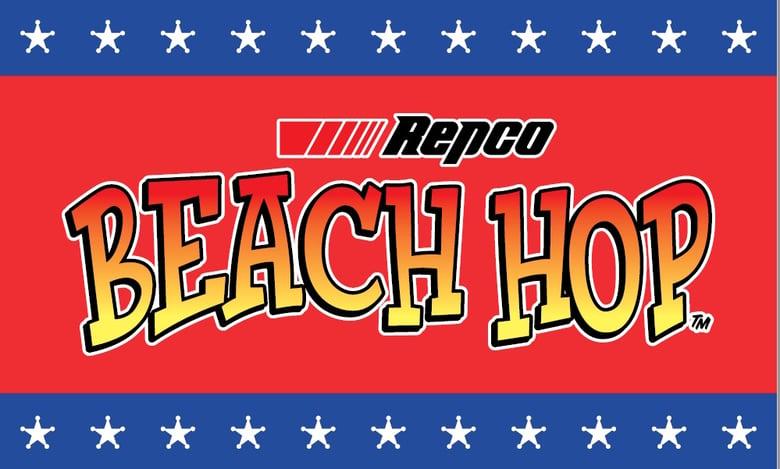 Image of Repco Beach Hop Flag