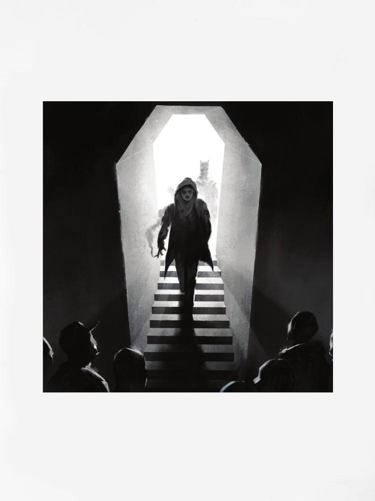 """Image of EEVIL STÖÖ """"6LACK ALBUM"""" 12"""" VINYYLI"""