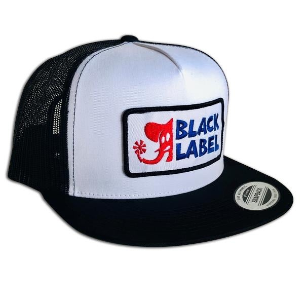 Image of Elephant Sector Patch Hat White front/Black mesh