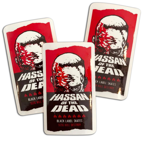 """Image of Omar """"Hassan Of The Dead"""" Sticker"""