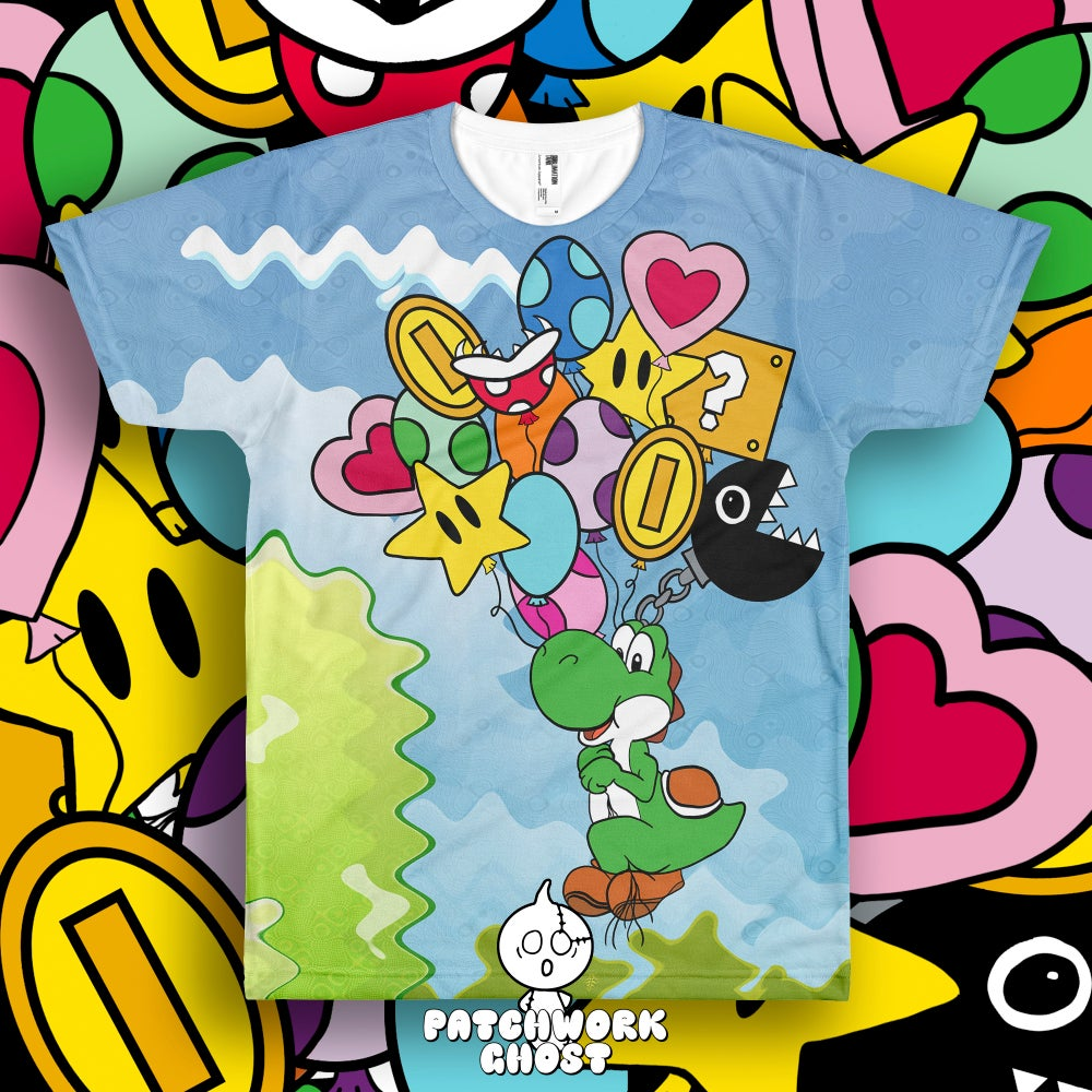 Image of Balloon Ride All Over Print Shirt