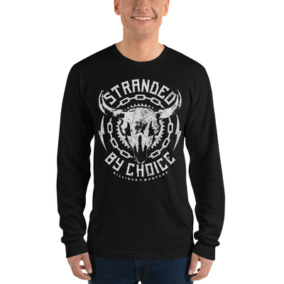Skull Design Long Sleeve Unisex Shirt