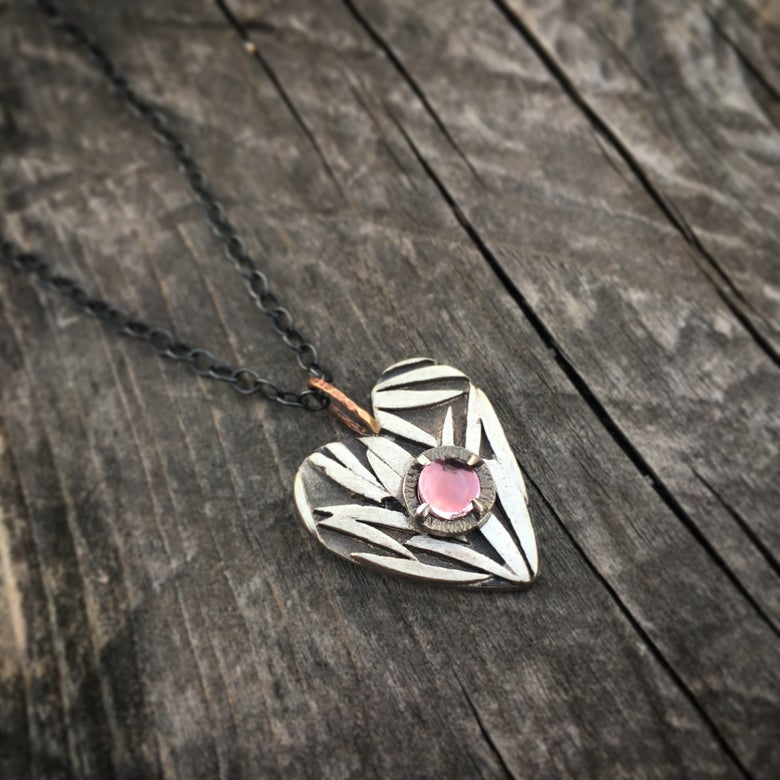 Image of wild at heart pendant